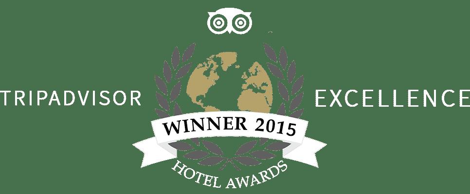 Blue Weiss Netanya hotel Tripadvisor Award
